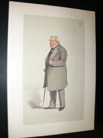 Vanity Fair Print 1883 Charles Freake, Architect Builder